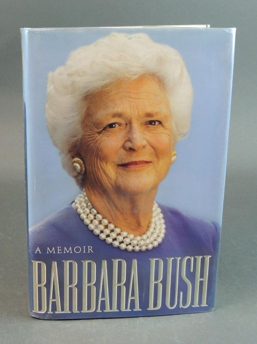 A Memoir Barbara Bush - Signed