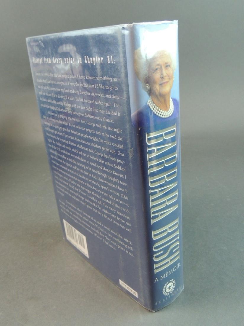 A Memoir Barbara Bush - Signed - 2