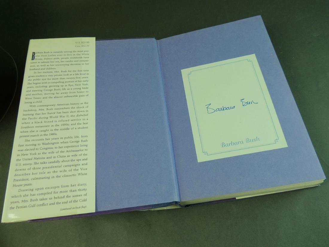 A Memoir Barbara Bush - Signed - 4