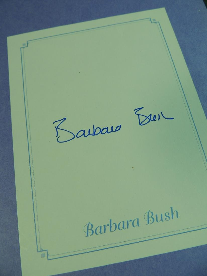 A Memoir Barbara Bush - Signed - 5