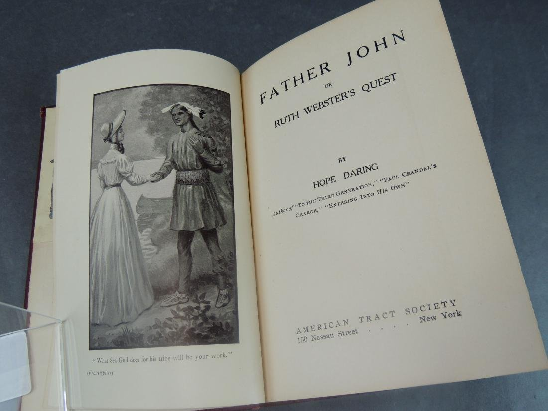 Hope Daring: Father John - Signed 1st Ed - 4