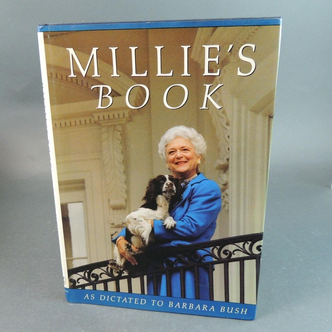 Millie's Book As Dictated to Barbara Bush - Signed