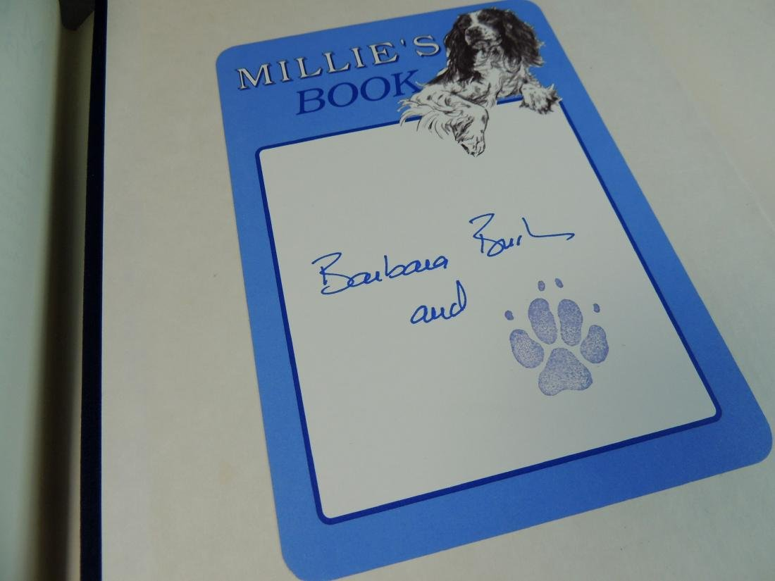 Millie's Book As Dictated to Barbara Bush - Signed - 5