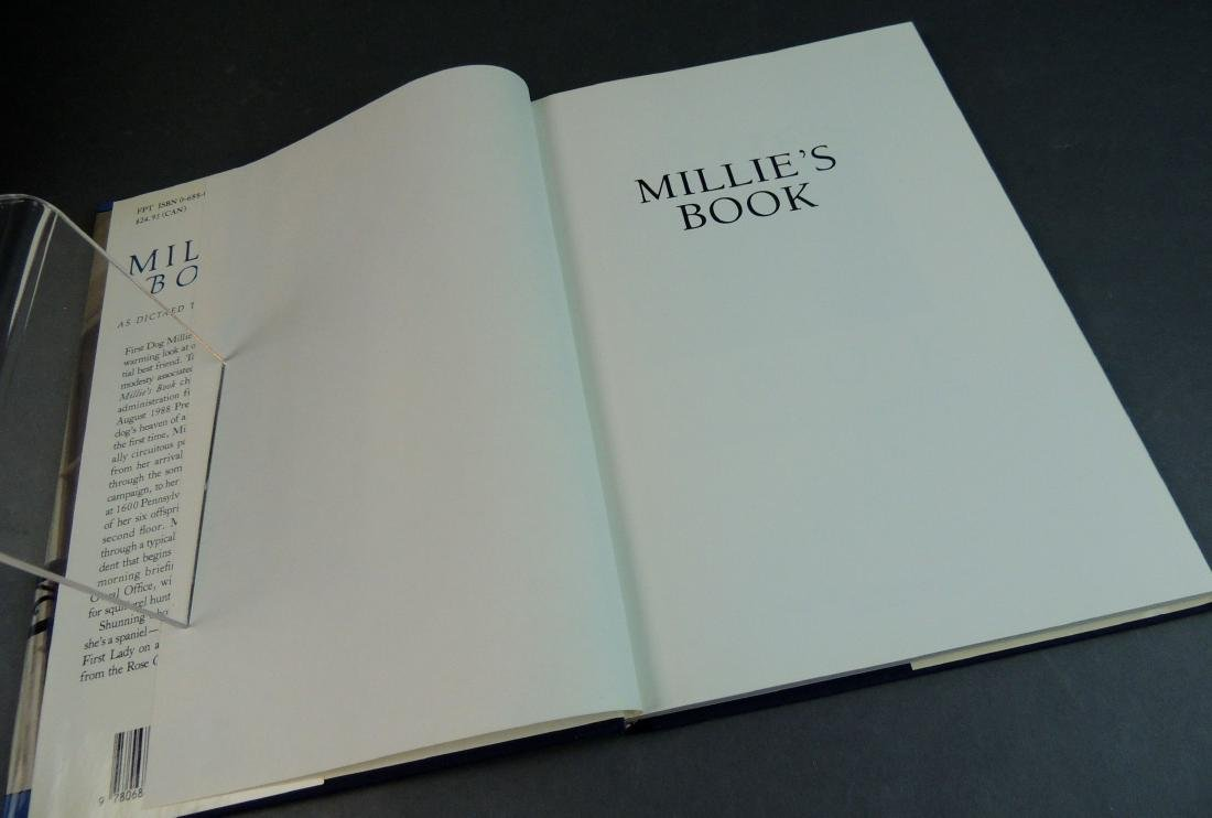Millie's Book As Dictated to Barbara Bush - Signed - 6