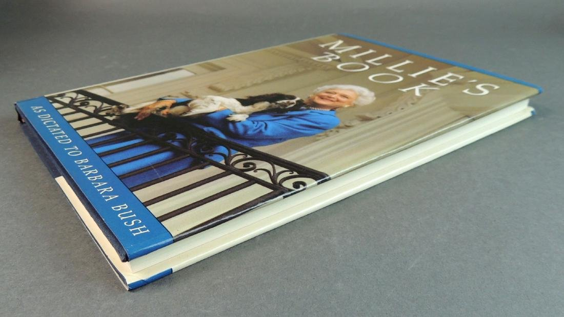 Millie's Book As Dictated to Barbara Bush - Signed - 9