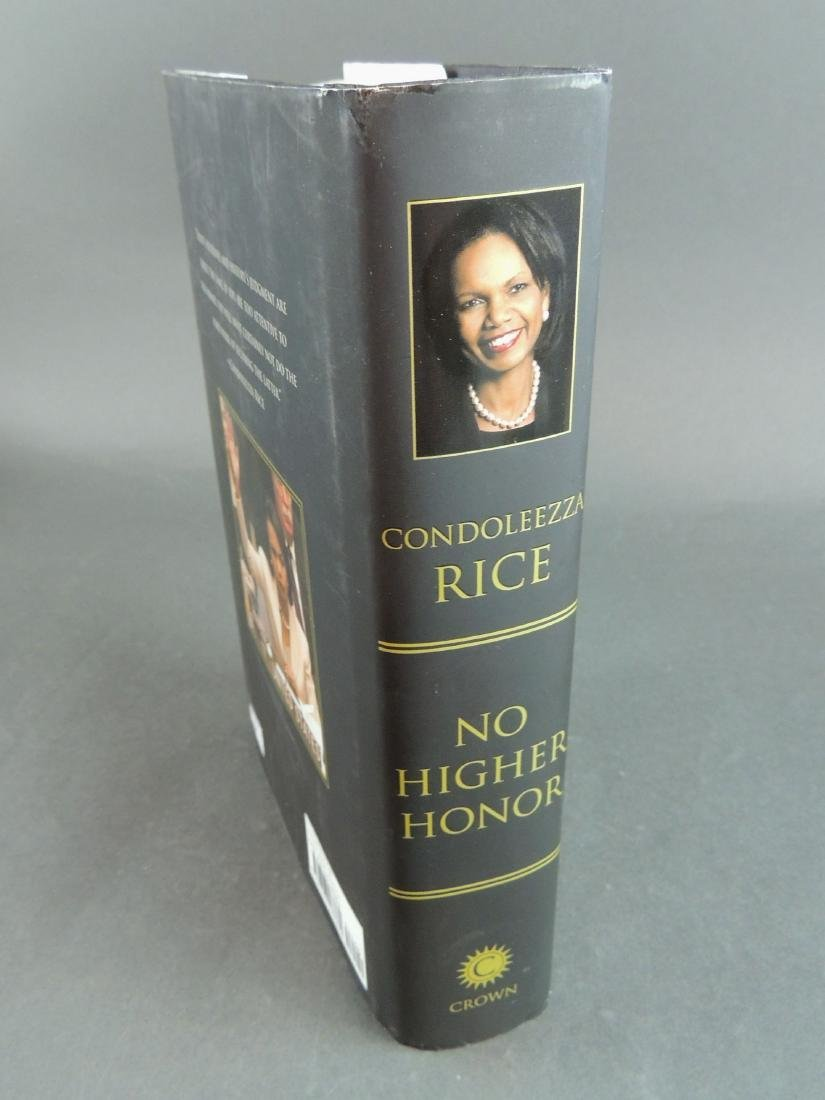 Condoleezza Rice: No Higher Honor - Signed - 3