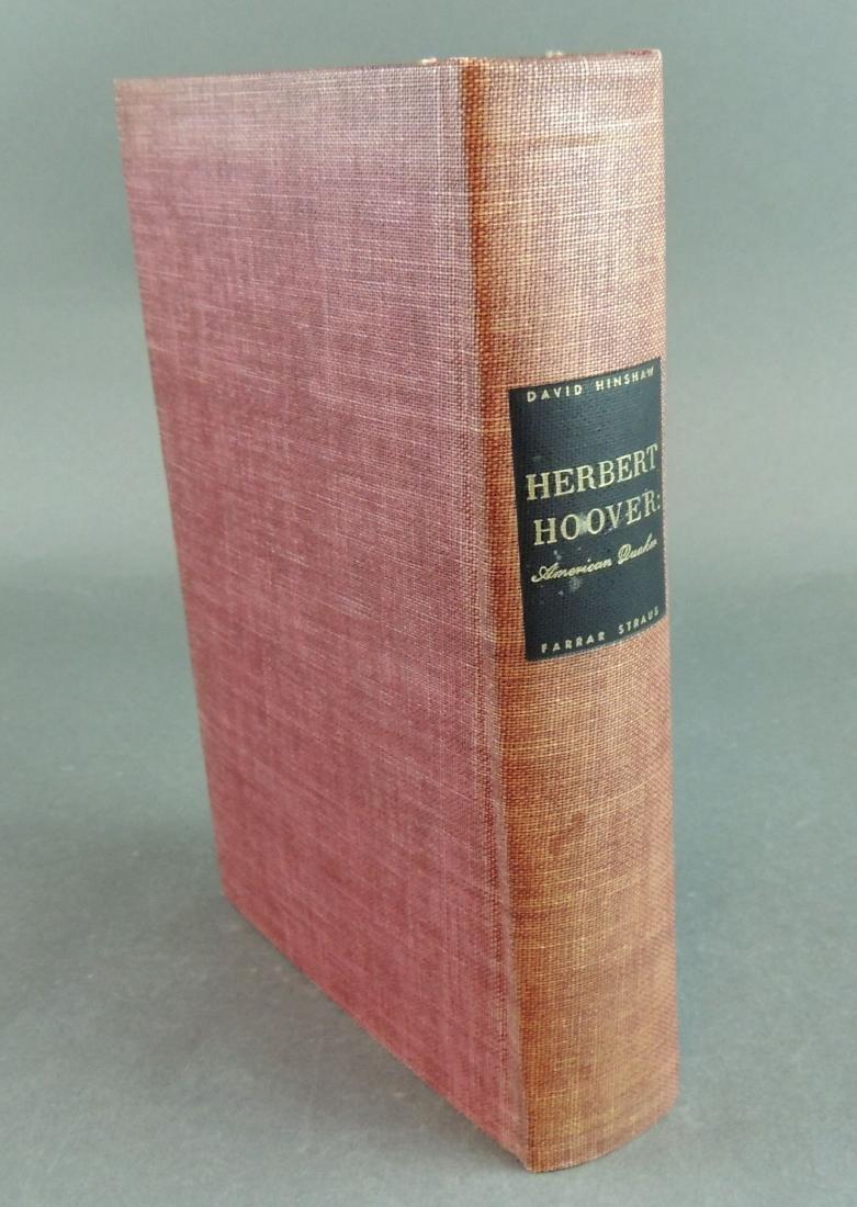 David Hinshaw: Herbert Hoover American Quaker - Signed - 2