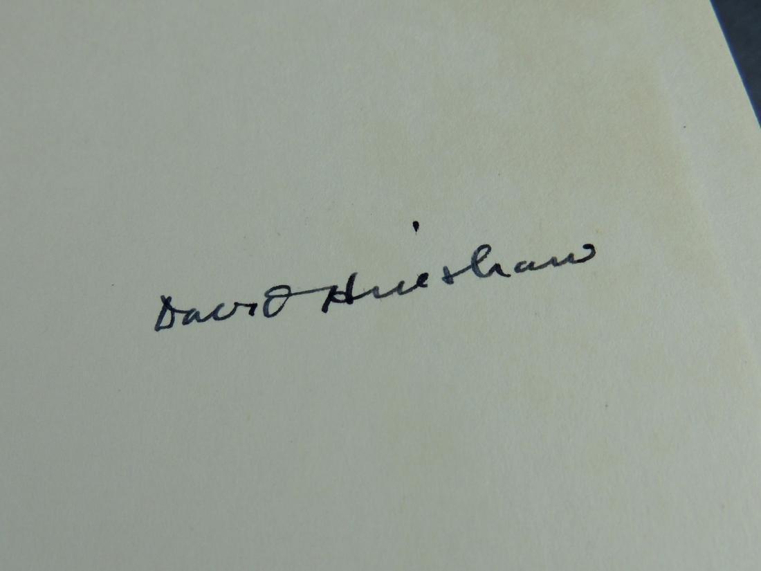 David Hinshaw: Herbert Hoover American Quaker - Signed - 3
