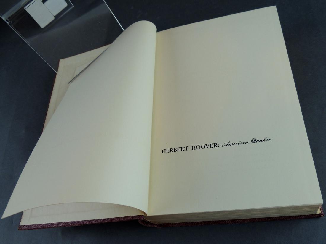 David Hinshaw: Herbert Hoover American Quaker - Signed - 5