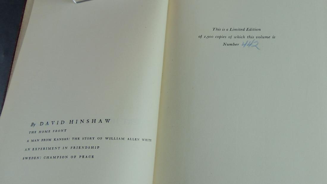 David Hinshaw: Herbert Hoover American Quaker - Signed - 6