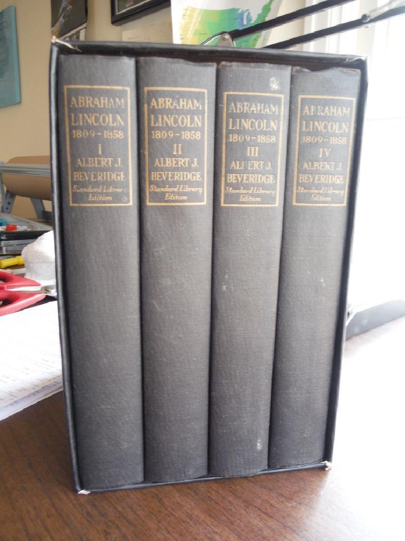 Abraham Lincoln 1809-1856. 4 Vols