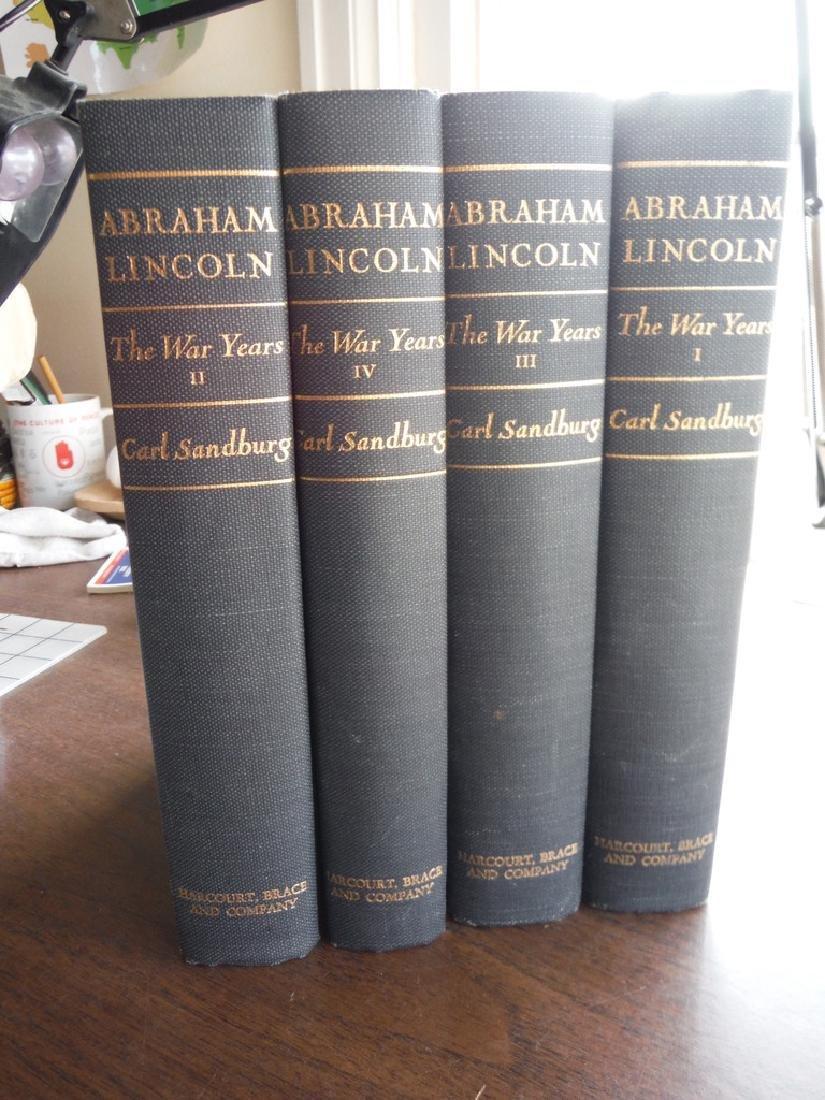 Abraham Lincoln 1809-1856. 4 Vols - 4