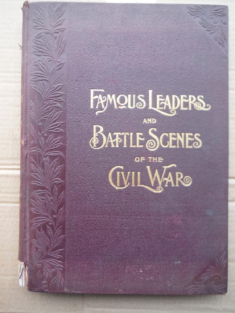 F. Leslie's Illus. Famous Leaders & Battle Of Civil War
