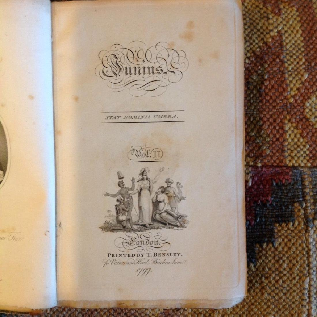 The Letters of Junius in Two Volumes, 1801 - 8
