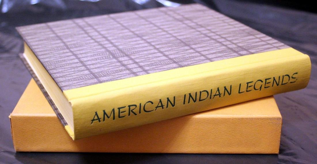 American Indian Legends, 1968 Heritage Press - 2