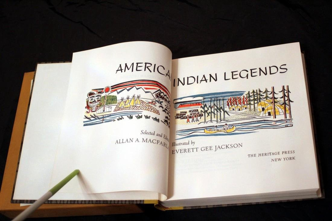 American Indian Legends, 1968 Heritage Press - 4