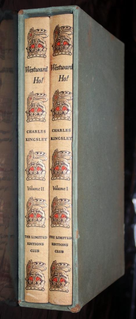 Kingsley, Charles: Westward Ho! 1947, Heritage Press