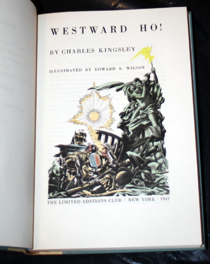 Kingsley, Charles: Westward Ho! 1947, Heritage Press - 4