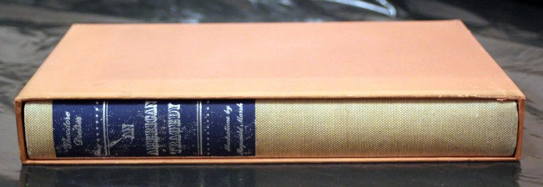 T. Dreiser: An American Tragedy. 1954 Heritage Press