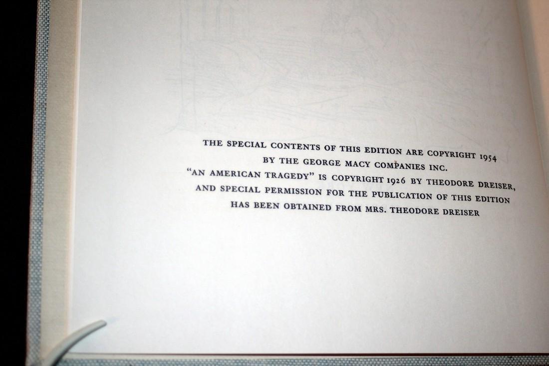 T. Dreiser: An American Tragedy. 1954 Heritage Press - 5