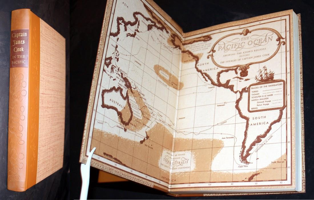 The Explorations of Captain James Cook in Pacific. 1962