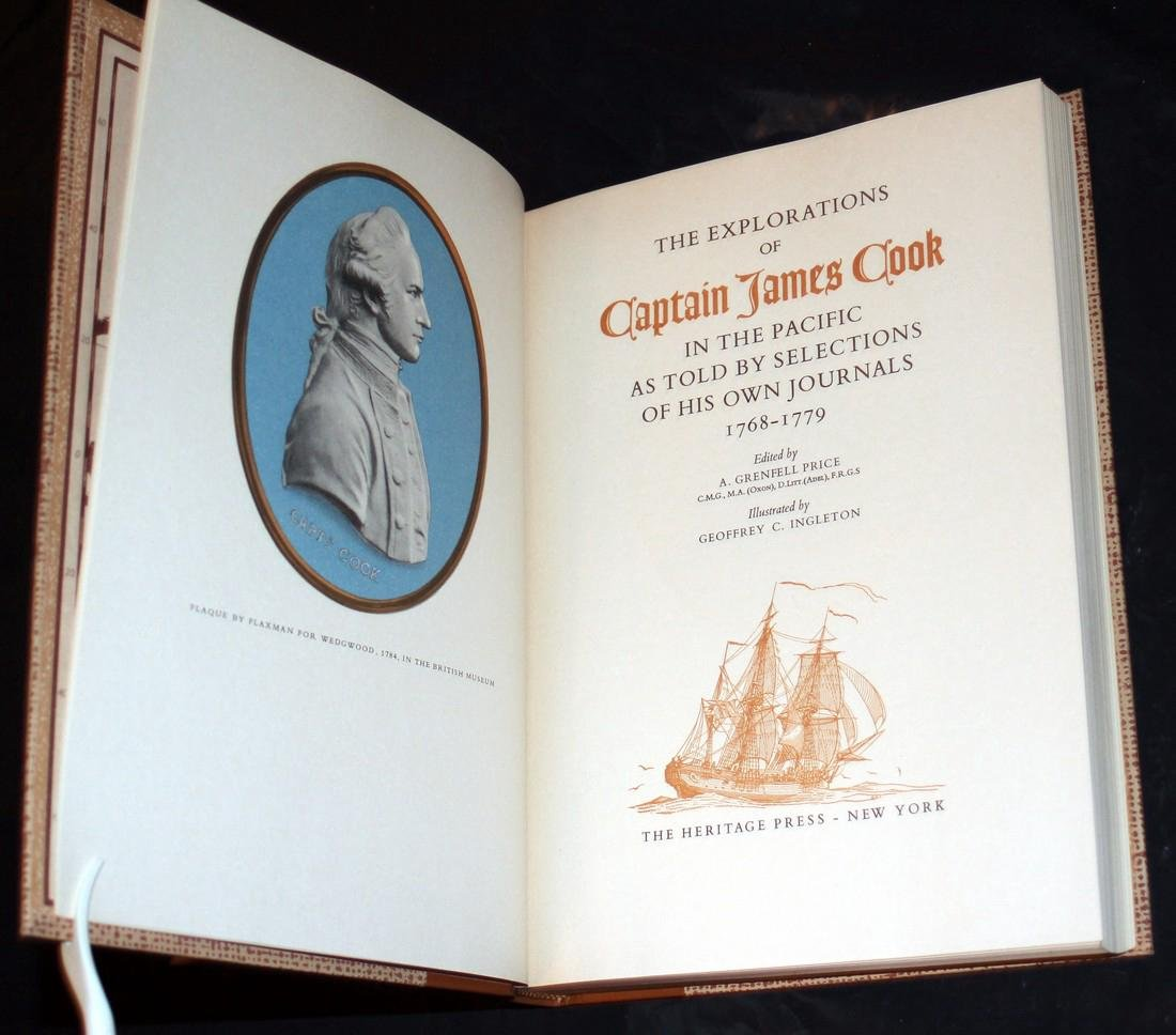 The Explorations of Captain James Cook in Pacific. 1962 - 2