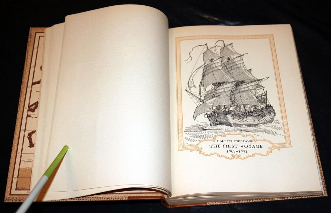 The Explorations of Captain James Cook in Pacific. 1962 - 4