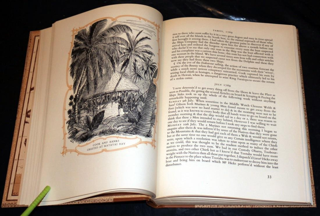 The Explorations of Captain James Cook in Pacific. 1962 - 5