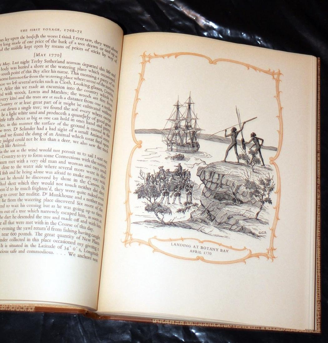The Explorations of Captain James Cook in Pacific. 1962 - 6