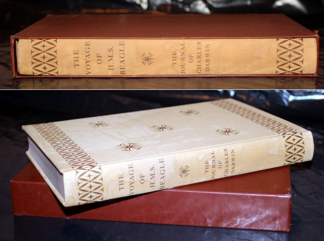 Darwin, Ch. Journal of Research, Voyage of Beagle. 1956