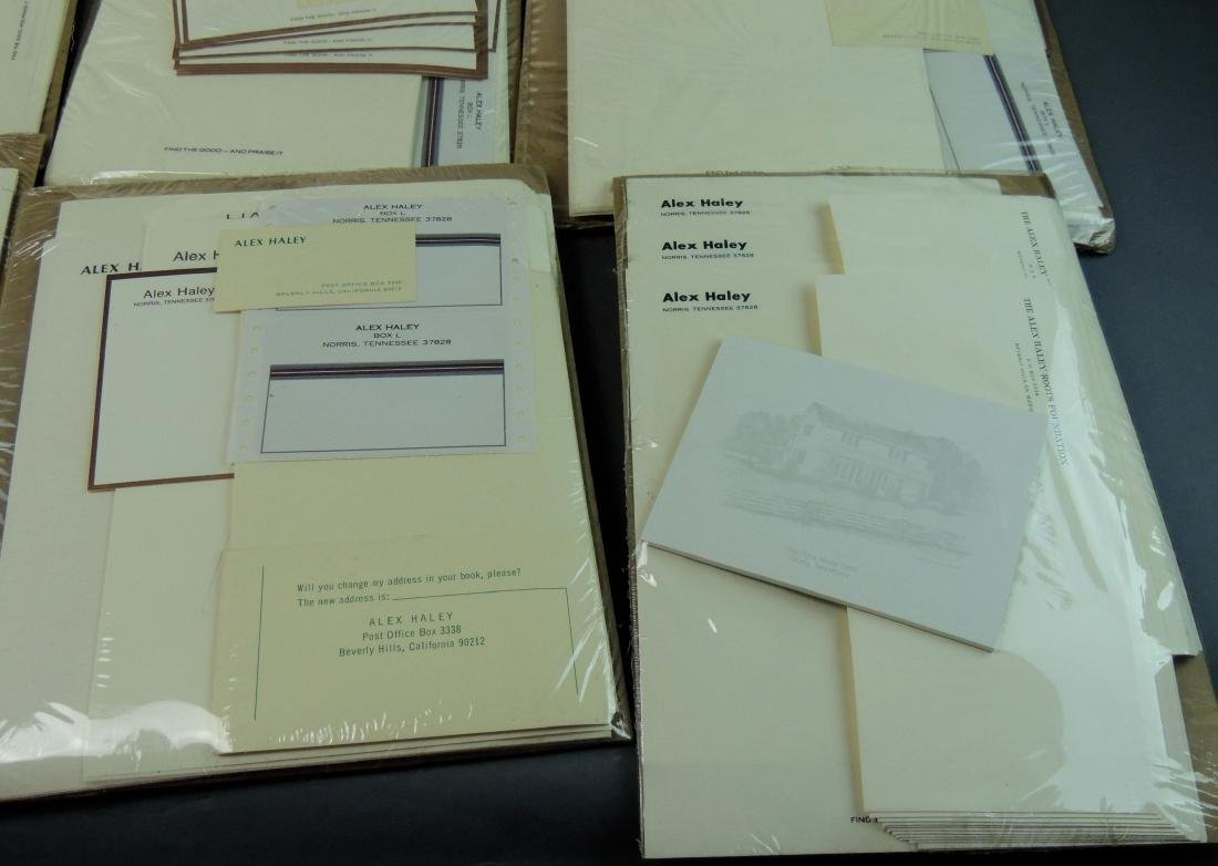 Alex Haley Unused Stationery & Signed Malcom X Book - 8