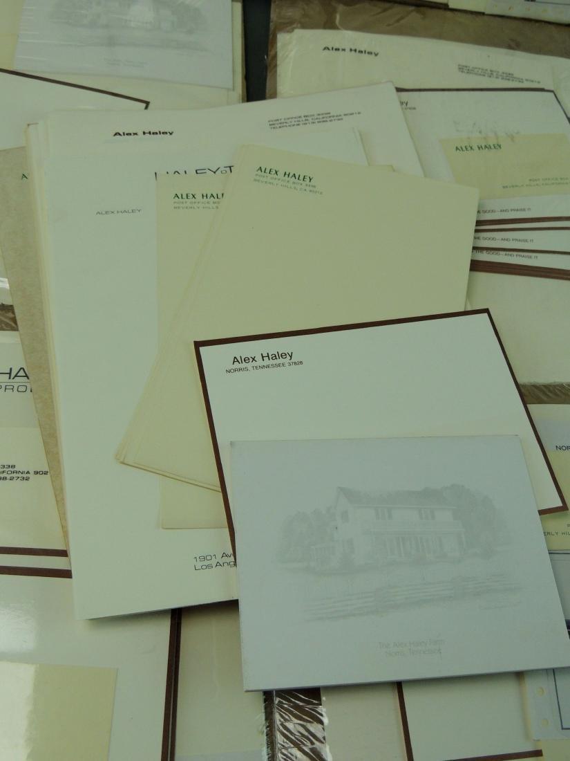 Alex Haley Unused Stationery & Signed Malcom X Book - 9