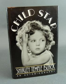 Shirley Temple Black An Autobiography - Signed 1st Ed