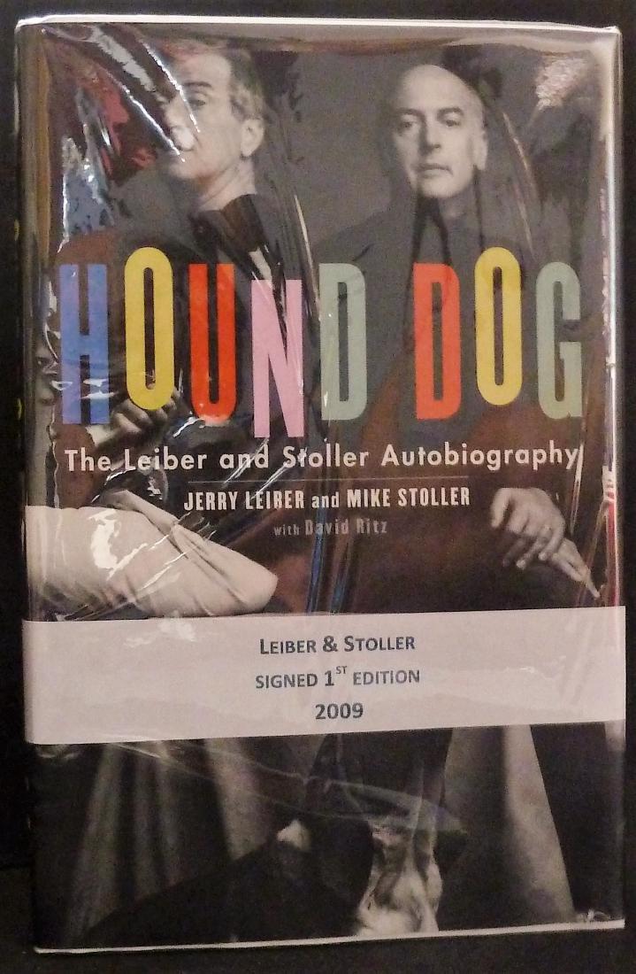 Leiber & Stoller Hound Dog - Signed