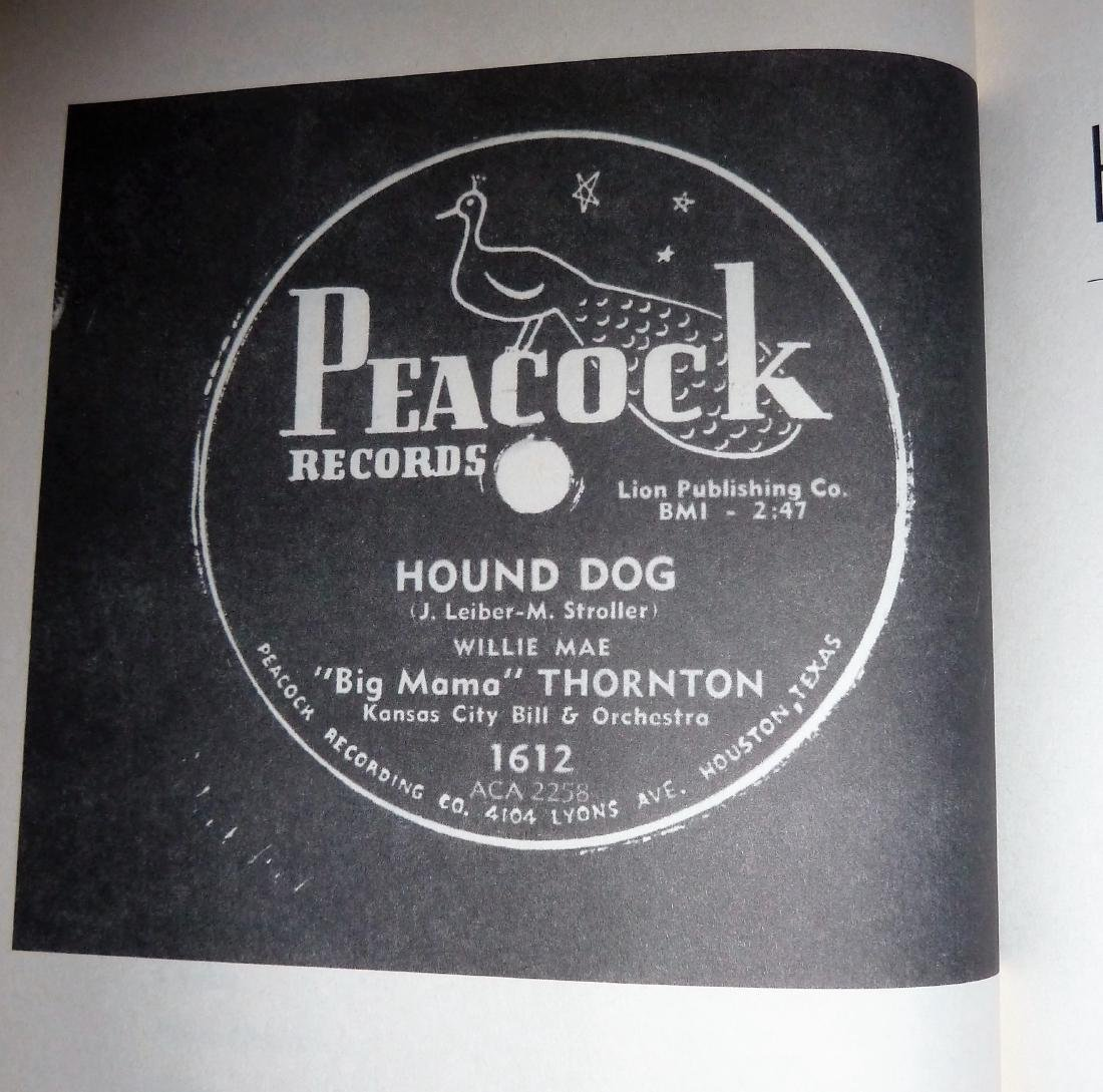 Leiber & Stoller Hound Dog - Signed - 5