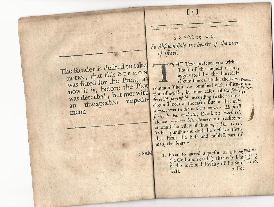 1684 Pamphlet Pia Fraus Anniversary of Murder Charles I - 2