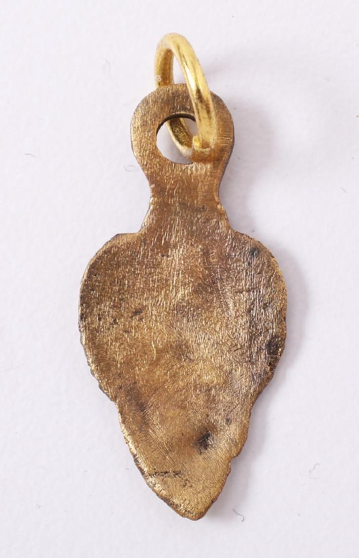Viking Heart Pendant C.850-950 AD - 2