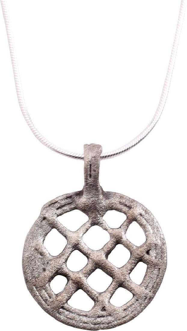 Viking Lattice Pendant 850-1050 AD - 2