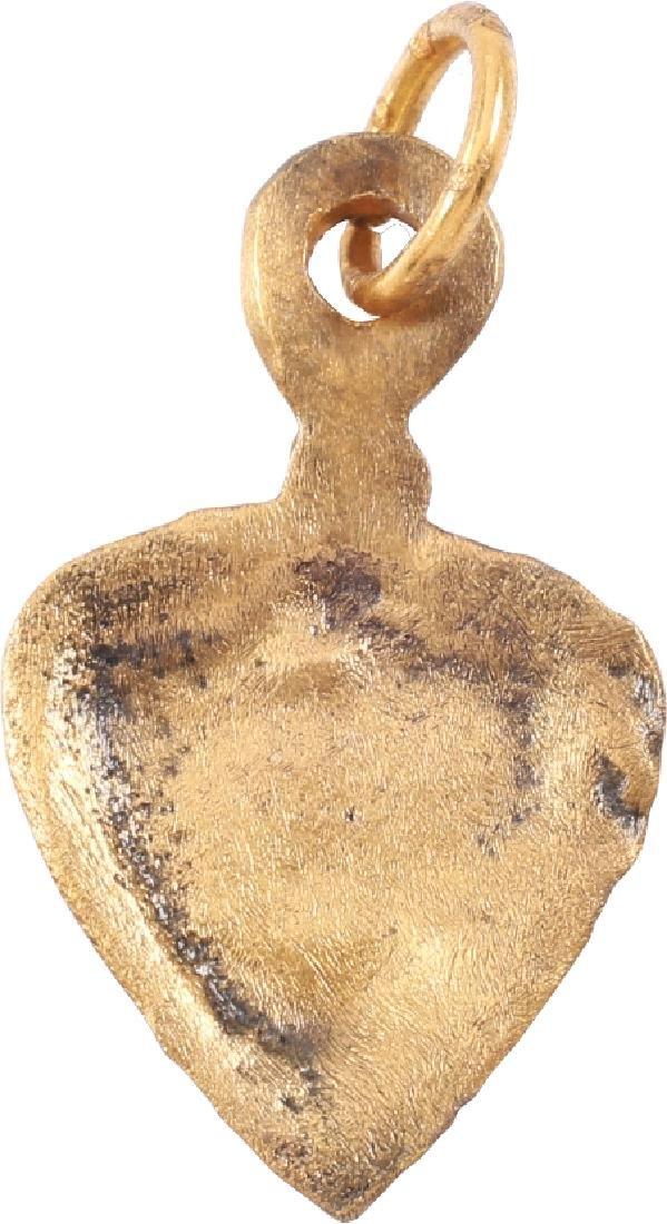 Viking Heart Pendant 10th-11th CENTURY - 2