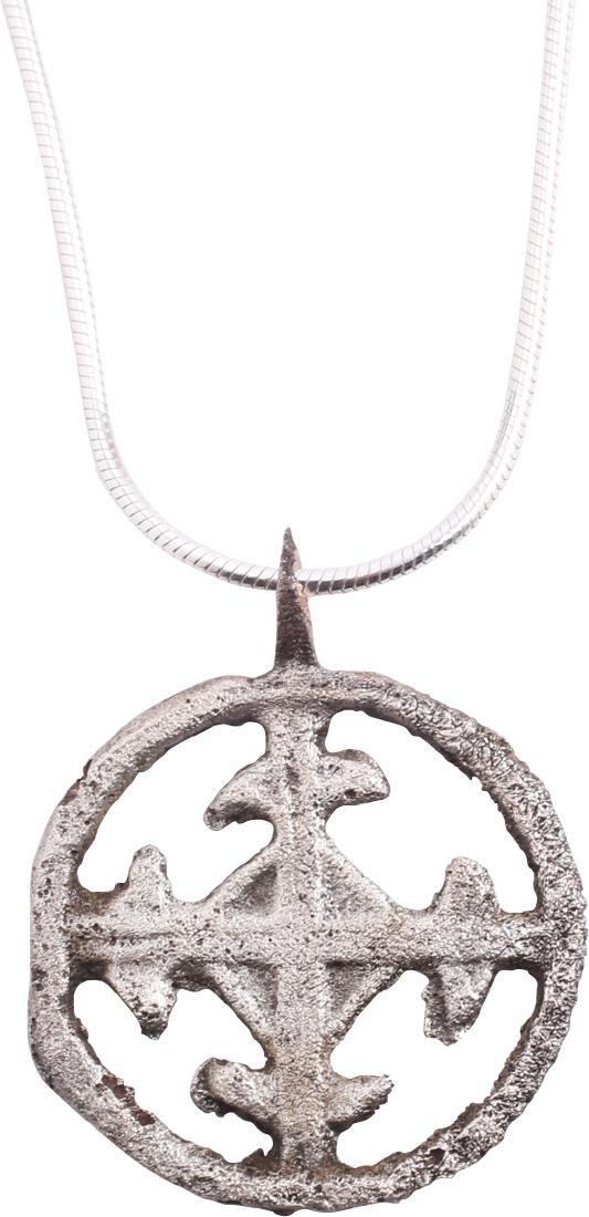 Crusader's Cross Pendant