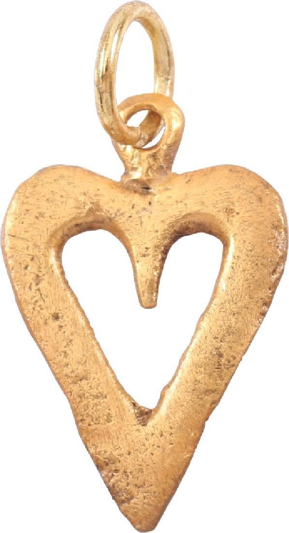 Viking Heart Pendant 9th-10th C