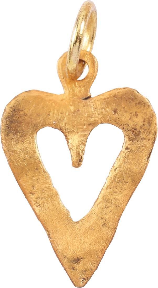 Viking Heart Pendant 9th-10th C - 2