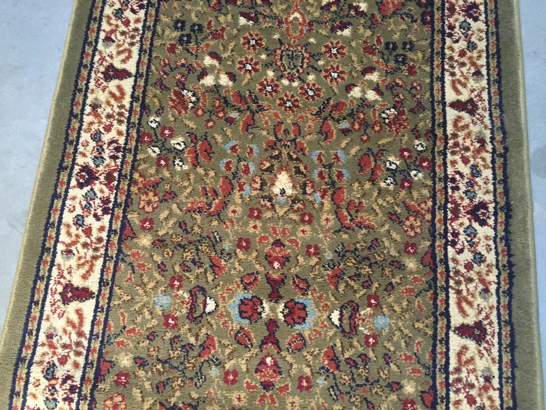 Colorful Persian Sarouk Design Runner Rug 2.3x7.7 - 3