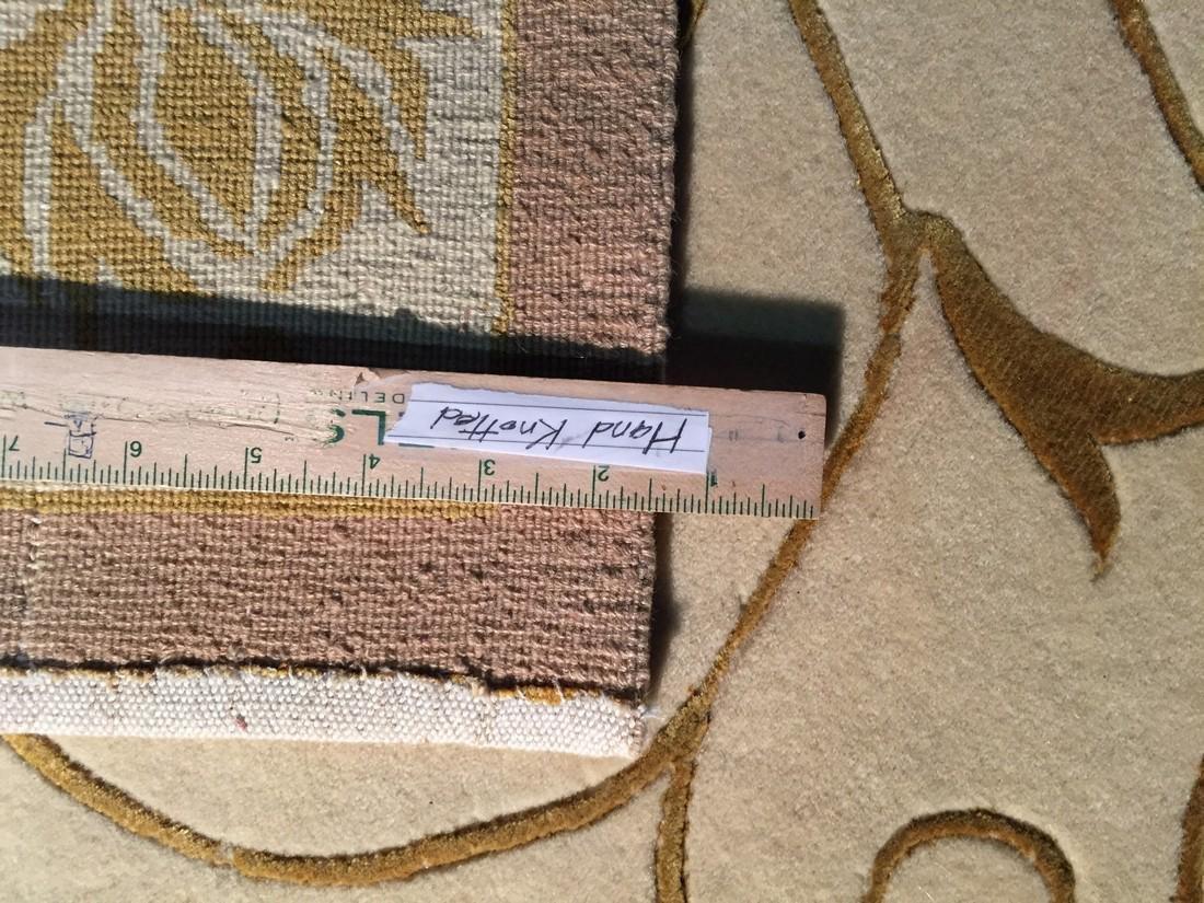 Nepal Silk & Wool Modern Hand Knotted Rug 2.7x5.3 - 3