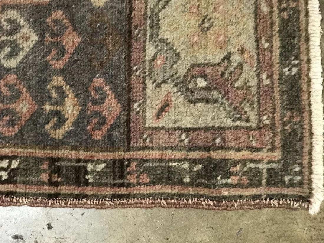 Handmade Wool Turkish Konya Runner 2x9 - 3