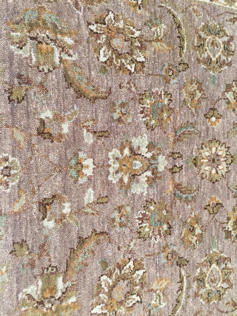 Tibetan Persian Kashan Hand Knotted Wool Rug 4.9x8.2 - 3