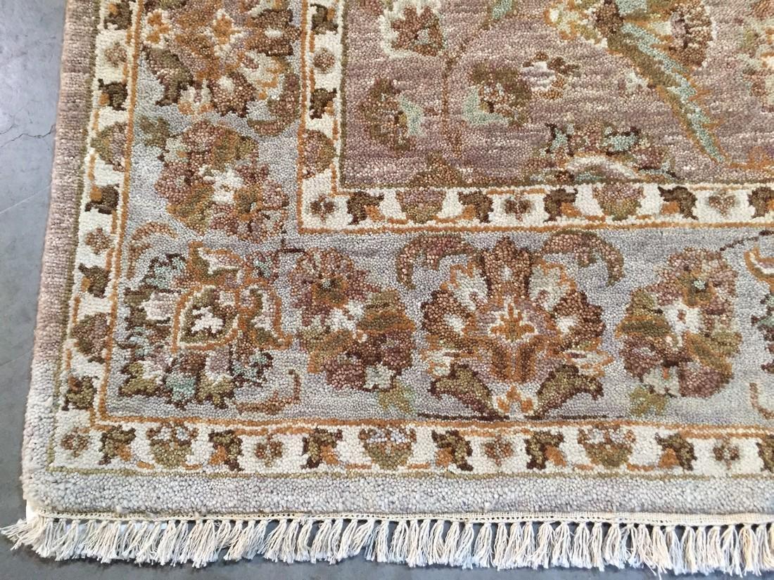 Tibetan Persian Kashan Hand Knotted Wool Rug 4.9x8.2 - 6