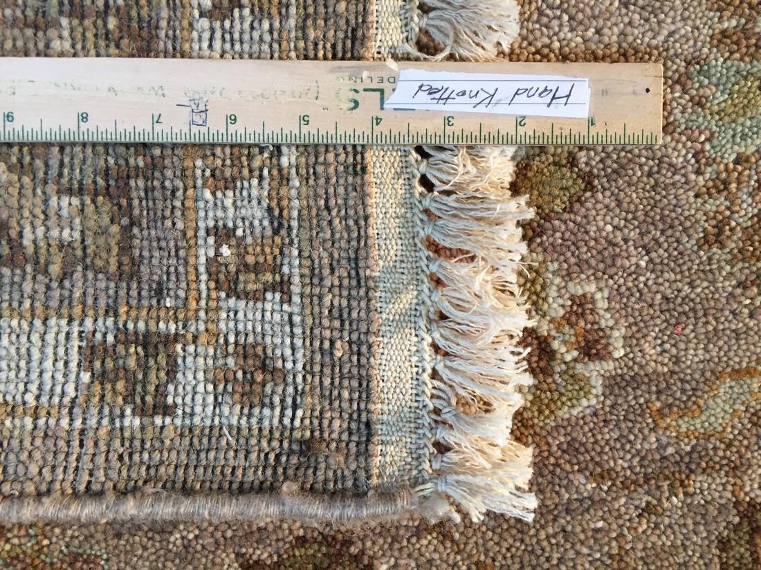 Tibetan Persian Kashan Hand Knotted Wool Rug 4.9x8.2 - 8