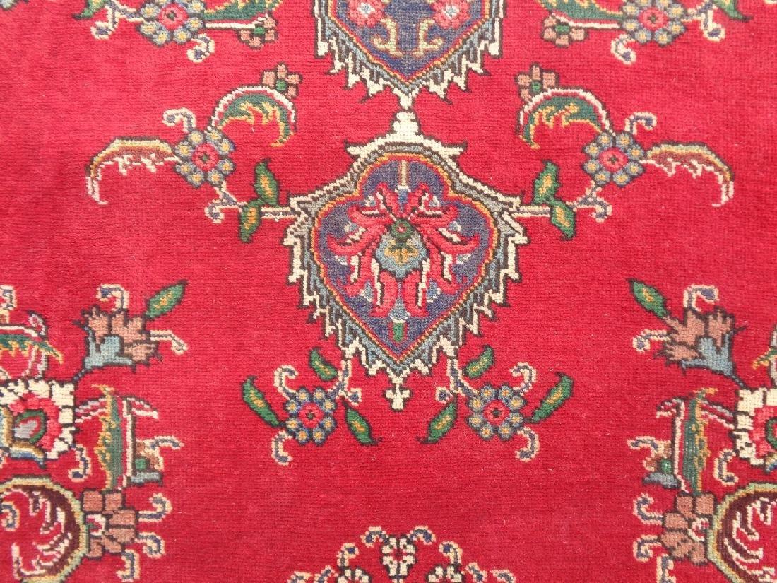 Semi Antique Persian Tabriz Rug 9x6 - 2