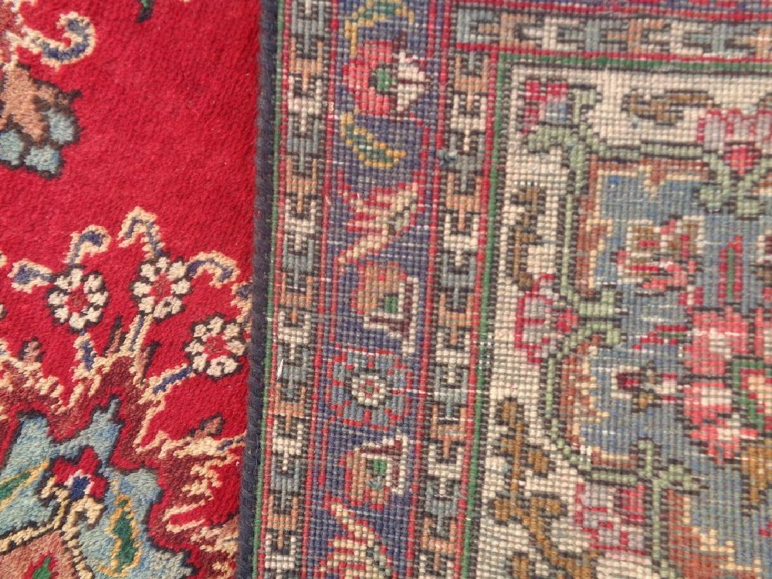 Semi Antique Persian Tabriz Rug 9x6 - 6